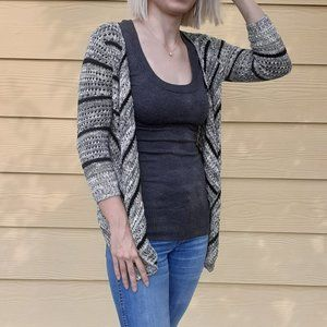 Black and white knit sweater - Mossimo